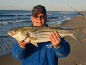 Keith Criado nails a keeper bass at White Sands in Rosh Hoshana Blitz '09